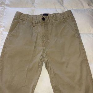 Boys Gap Outlet Dark Khaki Pants